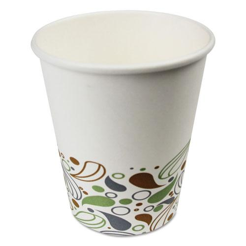 ESBWKDEER8HCUP - DEERFIELD PRINTED PAPER HOT CUPS, 8 OZ, 1000-CARTON