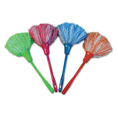 "ESBWKMINIDUSTER - Microfeather Mini Duster, Microfiber Feathers, 11"", Assorted Colors"