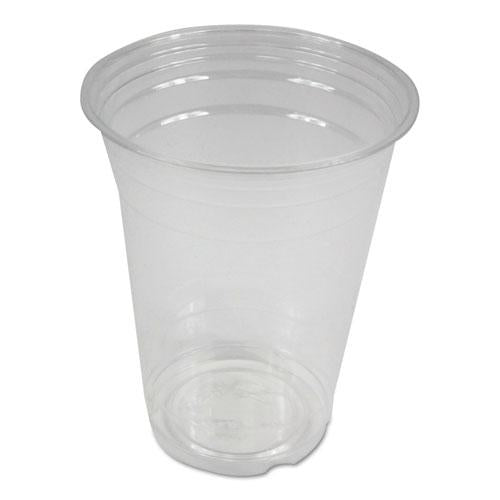 ESBWKPET16 - CLEAR PLASTIC COLD CUPS, 16 OZ, PET, 1000-CARTON