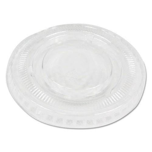 ESBWKPRTLID1 - SOUFFLE-PORTION CUP LIDS, FITS 1 OZ PORTION CUPS, CLEAR, 2500-CARTON
