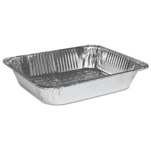 ESBWKSTEAMHFDP - HALF SIZE ALUMINUM STEAM TABLE PAN, DEEP, 100-CARTON