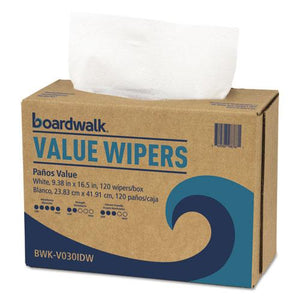 ESBWKV030IDW2 - Drc Wipers, White, 9 1-3 X 16 1-2, 9 Dispensers Of 100, 900-carton