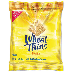ESCDB00798 - Wheat Thins Crackers, Original, 1.75 Oz Bag, 72-carton