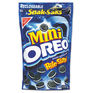 ESCDB15923 - Oreo Minis - Single Serve, 8 Oz Snak Sak