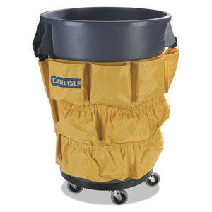 ESCFS3691704 - Bronco Waste Container Caddy Bag, 19 3-4 X 31, Yellow, 12-carton