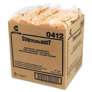 ESCHI0412 - Stretch 'n Dust Cloths, 11 5-8 X 24, Yellow, 40 Cloths-pack, 10 Packs-carton