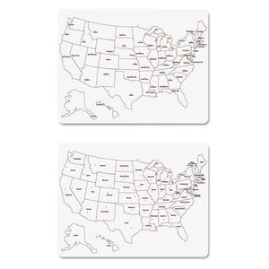 BOARD,LARGE USA MAP,WH