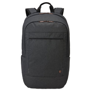 "ESCLG3203697 - ERA 15.6"" LAPTOP BACKPACK, 9.1"" X 11"" X 16.9"", GRAY"