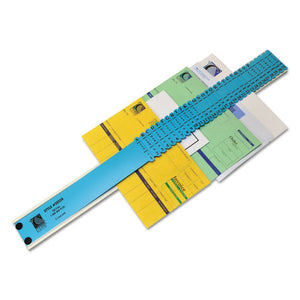 ESCLI30526 - Sorter, A-Z-1-31-jan-Dec-sun-Sat-0-30,000 Index, Letter Size, Plastic, Blue