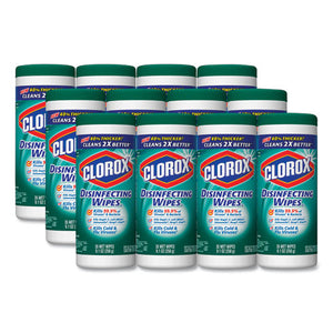 ESCLO01593CT - Disinfecting Wipes, 7 X 8, Fresh Scent, 35-canister, 12-carton