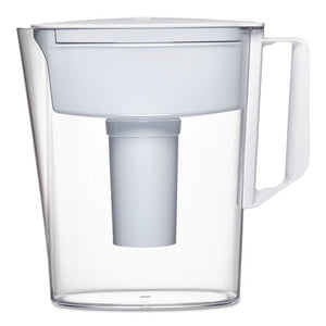 ESCLO36089EA - Classic Water Filter Pitcher, 40 Oz, 5 Cups