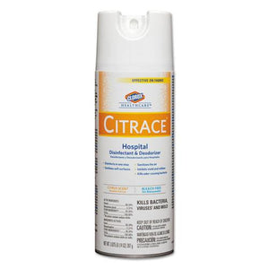 ESCLO49100 - Citrace Hospital Disinfectant & Deodorizer, Citrus, 14oz Aerosol, 12-carton