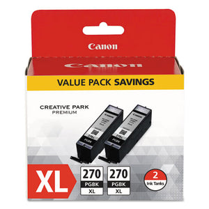 ESCNM0319C005 - 0319c005 (pgi-270xl) High-Yield Ink, Black, 2-pk