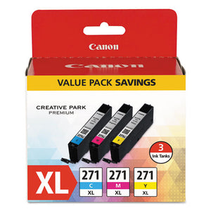 ESCNM0337C005 - 0337c005 (cli-271xl) High-Yield Ink, Cyan-magenta-yellow