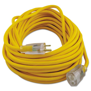 ESCOC01488 - Polar-solar Outdoor Extension Cord, 50ft, Yellow