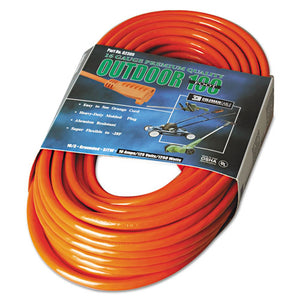 ESCOC02309 - Vinyl Extension Cord, 100ft, Awg 16-3, Sjtw-A, Orange