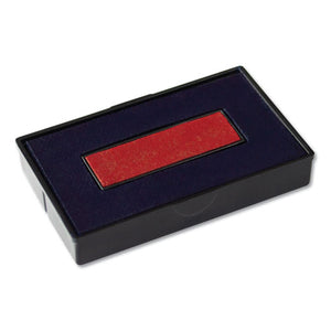 ESCOS061797 - Felt Replacement Ink Pad For 2000plus Economy Message Dater, Red-blue