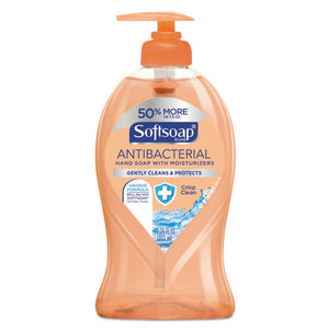 ESCPC44571 - Antibacterial Hand Soap, Crisp Clean, 11 1-4 Oz Pump Bottle, 6-carton
