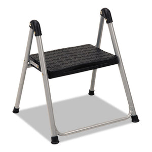 "ESCSC11014PBL1E - Folding Step Stool, 1-Step, 200lb, 9 9-10"" Working Height, Platinum-black"