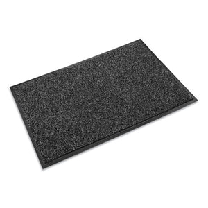 ESCWNCS0035GY - Cross-Over Indoor-outdoor Wiper-scraper Mat, Olefin-poly, 36 X 60, Gray