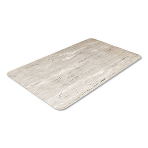 ESCWNCU3660GY - Cushion-Step Surface Mat, 36 X 60, Marbleized Rubber, Gray