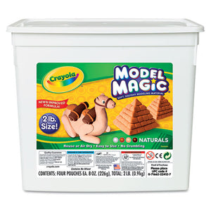 ESCYO232412 - Model Magic Modeling Compound, Assorted Natural Colors, 2 Lbs.
