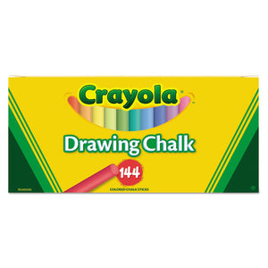 ESCYO510400 - Colored Drawing Chalk, Six Each Of 24 Assorted Colors, 144 Sticks-set