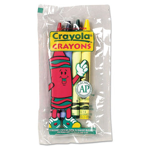 ESCYO520083 - Classic Color Crayons In Cello Pack, 4 Colors, 4-pack, 360 Packs-carton