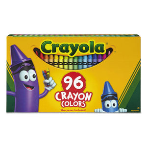 ESCYO520096 - Classic Color Crayons In Flip-Top Pack With Sharpener, 96 Colors