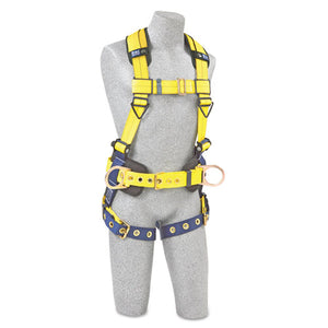 ESDBS1101655 - Full-Body Harness, Tongue Buckles, Side-back D-Rings, Large, 420lb Capacity