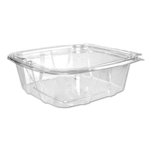 ESDCCC8DCPR - Clearpac Container Lid Combo-Pack, 5-7-8x4-7-8x1-5-16, Clear 8oz 63-pk 4 Pk-ct