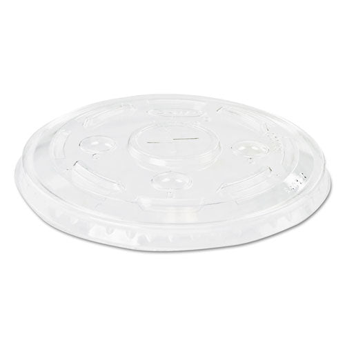ESDCCL32C - Conex C-Cup Lids, Fits Plastic Cups, Clear, 50-pack, 20 Packs-carton