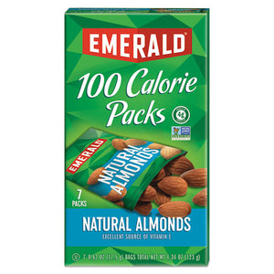 ESDFD34325 - 100 Calorie Pack All Natural Almonds, 0.63oz Packs, 7-box