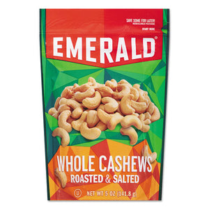ESDFD93364 - Roasted & Salted Cashew Nuts, 5 Oz Pack, 6-carton