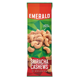 ESDFD93917 - Snack Nuts, Sriracha Cashews, 1.25 Oz Tube, 12-box