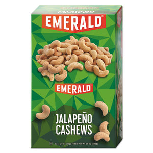 ESDFD94217 - Snack Nuts, Jalapeno Cashews, 1.25 Oz Tube, 12-box
