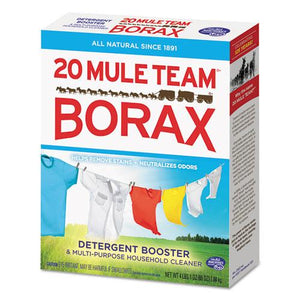 ESDIA00201 - 20 Mule Team Borax Laundry Booster, Powder, 4 Lb Box