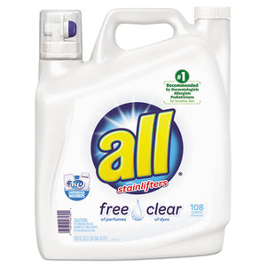 ESDIA46139 - All Free Clear 2x Liquid Laundry Detergent, Unscented, 162 Oz Bottle, 2-carton