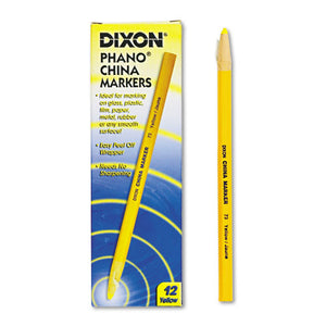 ESDIX00073 - China Marker, Yellow, Dozen