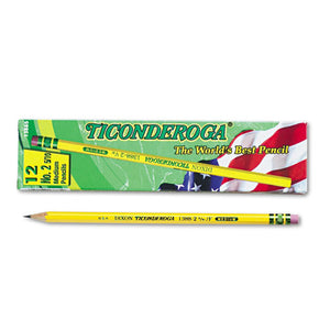 ESDIX13885 - Woodcase Pencil, F #2.5, Yellow, Dozen