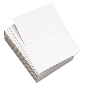 "ESDMR851055 - CUSTOM CUT-SHEET COPY PAPER, 92 BRIGHT, 20LB, 8-1-2X11, PERF 5 1-2"", 2500-CT"