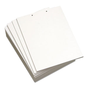 ESDMR851221 - Custom Cut-Sheet Copy Paper, 20 Lb, 8 1-2 X 11, White, 2-Hole Top, 500 Sheets-rm
