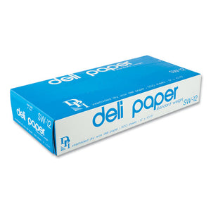 "ESDPKSW12XX - INTERFOLDED DELI SHEETS, 12"" X 10 3-4"", 500 SHEETS-BOX, 12 BOXES-CARTON"