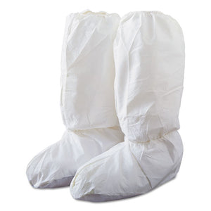 ESDRPIC444SL - Tyvek Isoclean High Boot Covers With Pvc Soles, White, Large, 200-carton