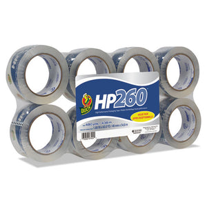 "ESDUC0007424 - Hp260 Packaging Tape, 1.88"" X 60yds, 3"" Core, Clear, 8-pack"