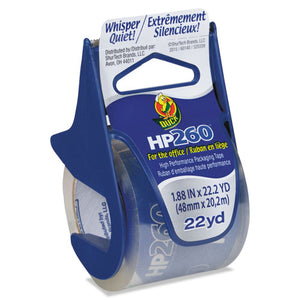 "ESDUC0007427 - Hp260 Packaging Tape W-dispenser, 1.88"" X 22.2yds, Clear"