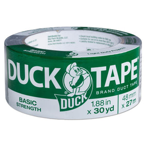 "ESDUC1154019 - Basic Strength Duct Tape, 5.5mil, 1.88"" X 30yd, 3"" Core, Silver"