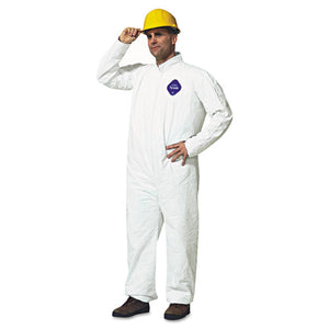 ESDUPTY120SM - Tyvek Coveralls, White, Medium, 25-carton