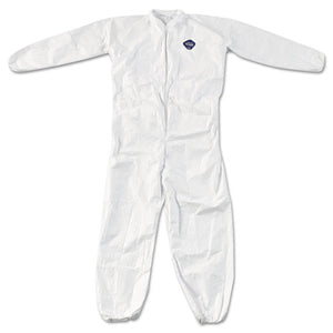 ESDUPTY125S4XL - Tyvek Elastic-Cuff Coveralls, White, 4x-Large, 25-carton