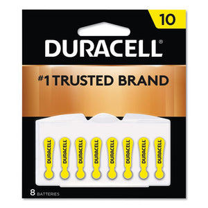 ESDURDA10B8ZM10 - HEARING AID BATTERY, #10, 8-PACK